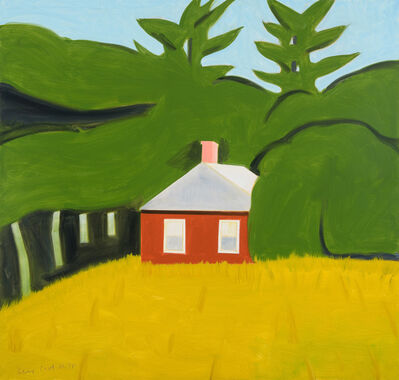 Alex Katz, 'Red House', 2016
