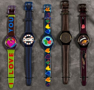 Peter Blake, 'Tikkers - The Royal Academy of Art Watch Collection', 1994