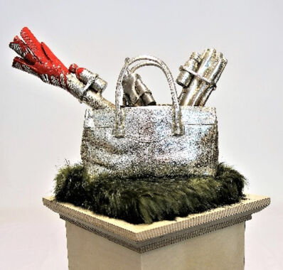 William Sweetlove, 'Cloned Handbag with Veggies'