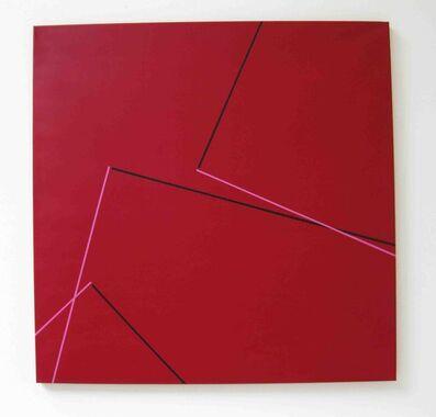 Vera Molnar, '3 Angles droits E', 2008