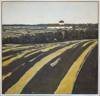 David Konigsberg, 'Fields and Distant Barn', 2013