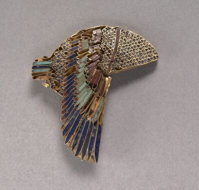 Egypt, Ptolemaic Dynasty, 'Vulture Headdress Inlay', 100-1 BC