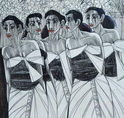 krijono, 'Mererot ke Pura Bali', 2004
