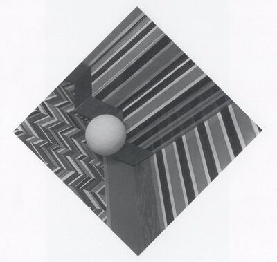 Robert Cumming, 'The Ball was left by the Edge of the Stairs', 1974