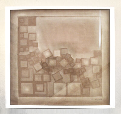 Lee Heekin, 'Impression on Linen'