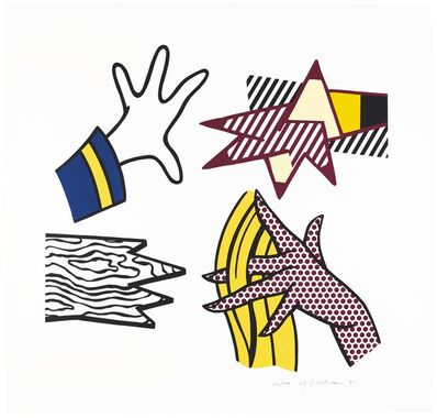 Roy Lichtenstein, 'Study of Hands ', 1981