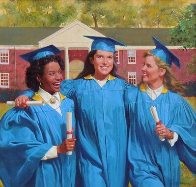 Robert Berran, 'Graduation Day, Book Cover'