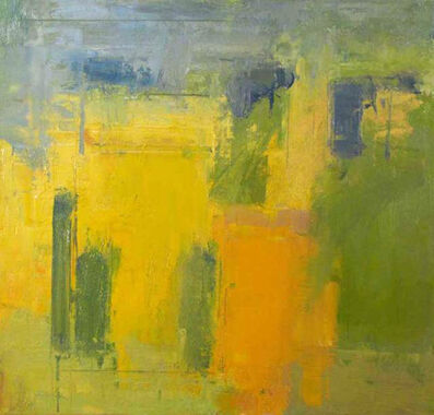 Stuart Shils, 'Yellow and Greens From My Window', 2012