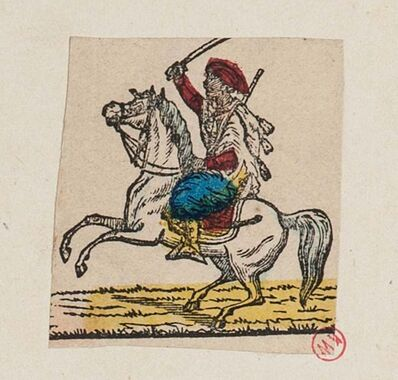 Unknown, 'Man on Horseback', 18th Century