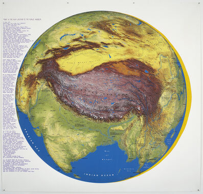 Newton Harrison & Helen Mayer Harrison, 'Tibet is the High Ground II', 2009