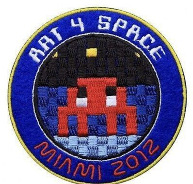 Invader, 'Art 4 Space Patch', 2012