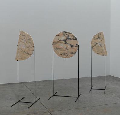Sári Ember, 'Moon masks (pink)', 2019