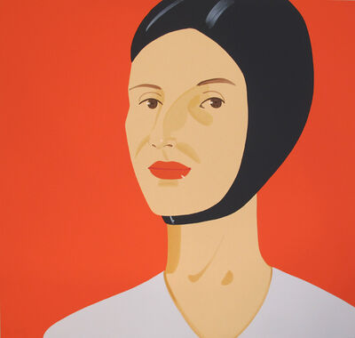 Alex Katz, 'Bathing Cap Ada', 2012