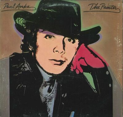 "Andy Warhol, 'Paul Anka / ""The Painter"" ', 1976"