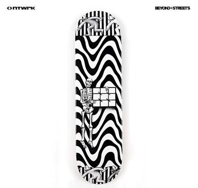 "Ryan Travis Christian, '""Infinite Knife Life"" Skateboard deck', 2020"
