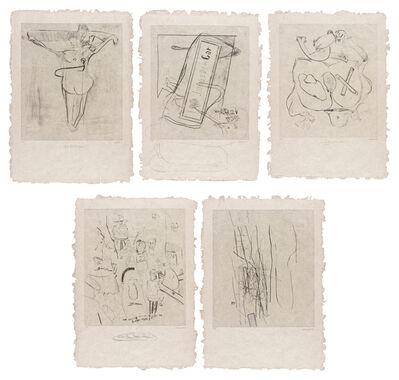 Martin Kippenberger, 'Yeschen-Nochen-Vielleichtchen', 1991