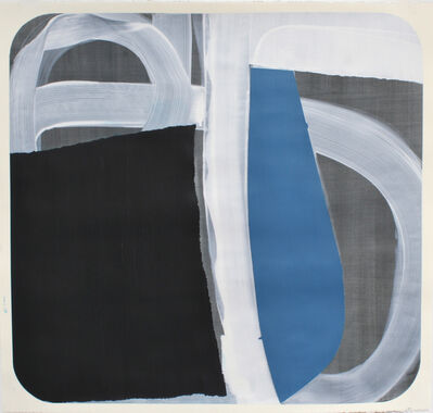 Marcelyn McNeil, 'Black and Blue', 2017