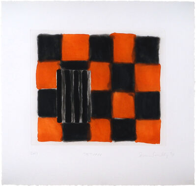 Sean Scully, 'Tetuan', 1991