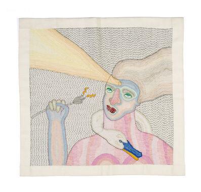 Paloma Castillo, 'Sin título (Leda con cisne)', 2019