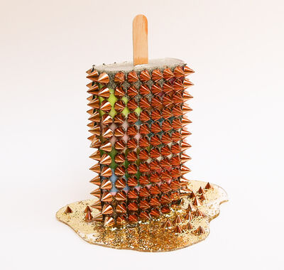 Betsy Enzensberger, 'Woven Spikes', 2019