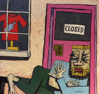 David Lambert, 'Doorway Sleeper', 2018
