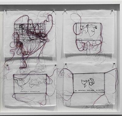 Anna Bella Geiger, 'Variáveis', 1976/2010