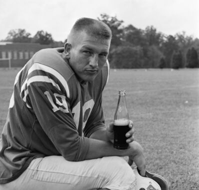 William Helburn, 'Johnny Unitas, RC Cola', 1962