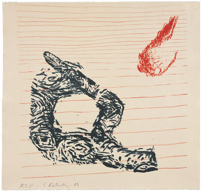 Susan Rothenberg, 'Snake with Foot', 2008