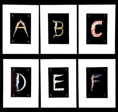 Erté (Romain de Tirtoff), 'Alphabet Suite', 1982