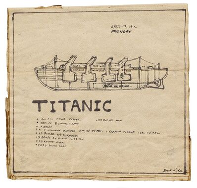George Widener, 'Untitled (Titanic)'