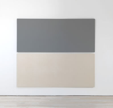 Alan Charlton, 'Painted and Unpainted', 2018