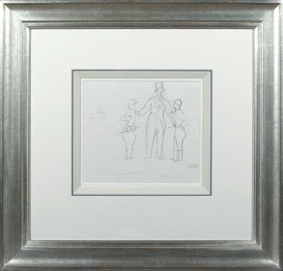 Raoul Dufy, 'Turfistes et Jockeys', 20th Century