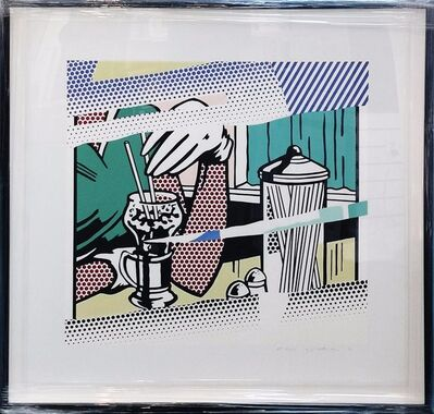 Roy Lichtenstein, 'REFLECTIONS ON SODA FOUNTAIN', 1991