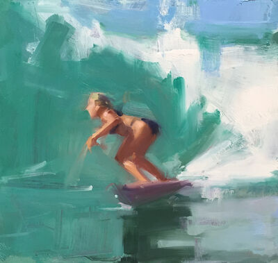 David Shevlino, 'Blonde Surfer', 2015