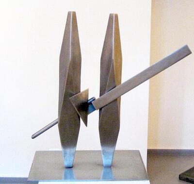 Igael Tumarkin, 'Boaz and Jachin', ca. 1990