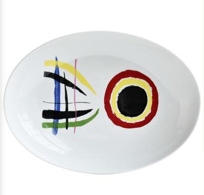 Joan Miró, 'A Toute Epreuve - Oval Plate', 2020