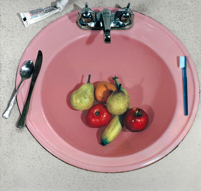 Sandy Skoglund, 'Pink Sink from Reflections in a Mobile Home', 1977