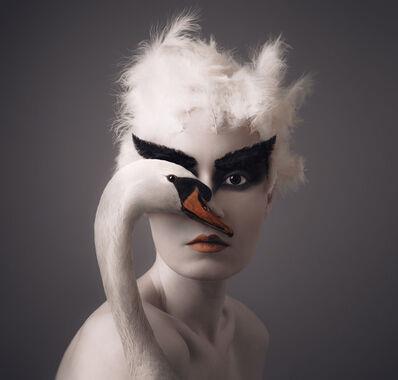 Flóra Borsi, 'Swan', 2018