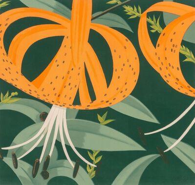 Alex Katz, 'Superb Lillies', 1972