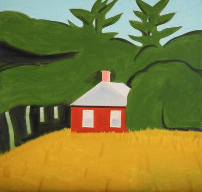 Alex Katz, 'Red House', 2015