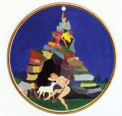 Luigi Ontani, 'Endimione e Demonio', 1986