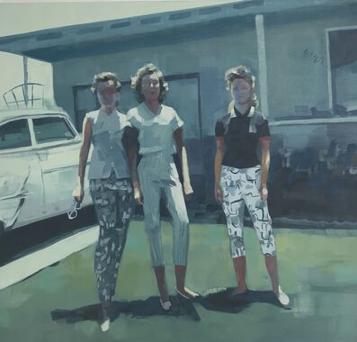 Kirsten Tradowsky, 'Three Friends, 1958', 2018