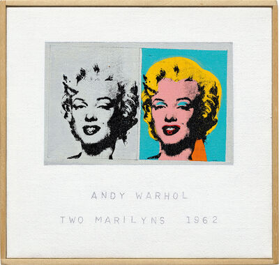 Richard Pettibone, 'Andy Warhol, 'Two Marilyns', 1962', 2004
