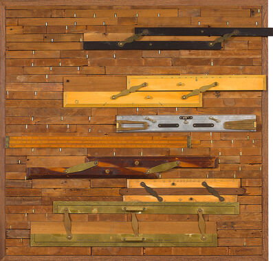 Willem Boshoff, 'Parallel Rulers'