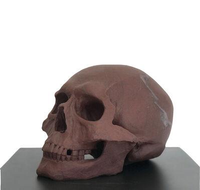 John Bizas, 'Human Skull II', 2018