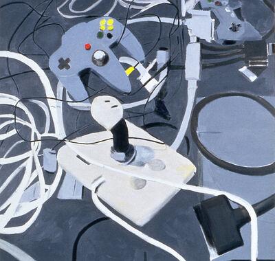 Miltos Manetas, 'Peripherals (Joystick, Nintendo & Playstation)', 1998