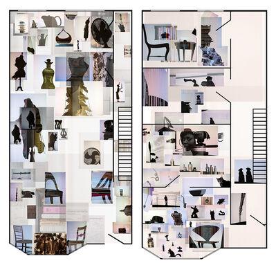 Joana P. Cardozo, 'Blueprint 19 - Kurt and Camilla', 2017