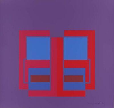 Robyn Denny, 'All Through the Day I (purple)', 1970