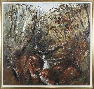 Arthur Boyd, 'Hunter by a creek', 1966