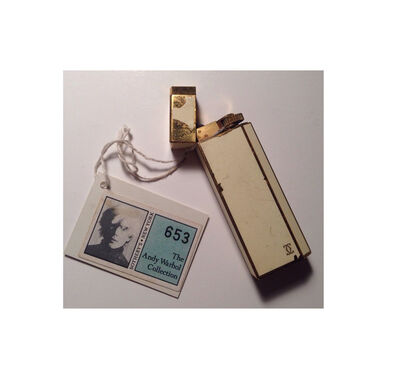 "Andy Warhol, '""Andy's Cartier Lighter""', ca. 1980"